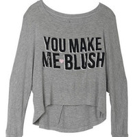 You Make Me Blush Tee