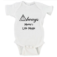Always Mommy's Little Muggle - Harry Potter Gerber Onesuit ®