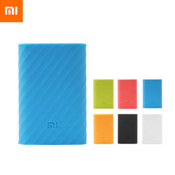 For Xiaomi 10000mah Power bank case protective cover silicone case rubber case High quality case Wonderful perfect Fit