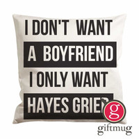 Hayes Grier Magcon Boys Cushion Case / Pillow Case