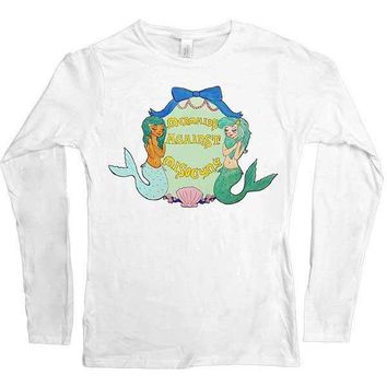 Mermaids Against Misogyny -- Women's Long-Sleeve
