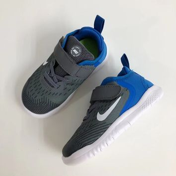 NIKE free Rn  Children's Magic Stick Sports Shoes