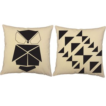 Origami Owl Throw Pillows