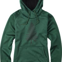 Burton Heron Womens Pullover Hoodie - Pine Needle Heather