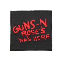 Guns N' Roses Was Here Iron-On Patch