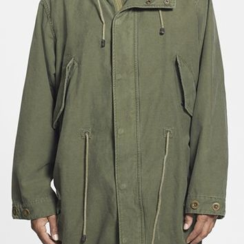 Men's DIESEL 'W-Formi' Hooded Fishtail