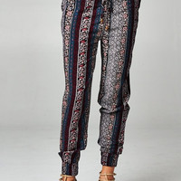 Tribal Printed Jogger