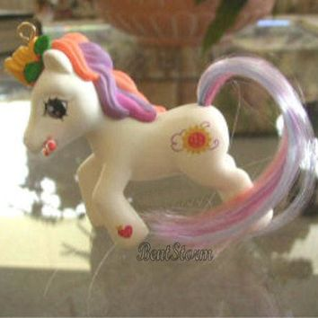 Licensed cool MY LITTLE PONY Christmas Ornament SUNNY DAZE & HOLIDAYS horse figurine figure
