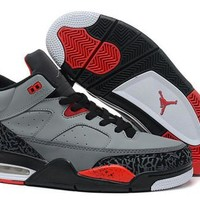 Cheap Nike Air Jordan Son Of Mars Low Shoes Cement Grey