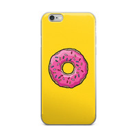 Sprinkle Donut The Simpsons iPhone 6/6s 6 Plus/6s Plus Case