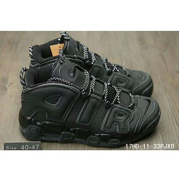Nike Air More Uptempo Pippen AIR sneakers F-HAOXIE-ADXJ Pure black