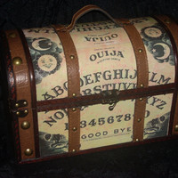 STEAMPUNK Ouija Board purse Large box purse by madmadamemimsshop