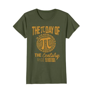 Pi Day 2018 Shirt Pi Day of Century Funny Math Geeks Gift