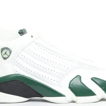 QIYIF AIR JORDAN RETRO 14 (GS) - FOREST GREEN