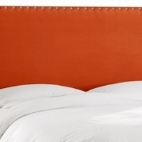 Loren Nail-Button Headboard,