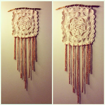 Dream Catcher Crochet Wall Art Home Decor
