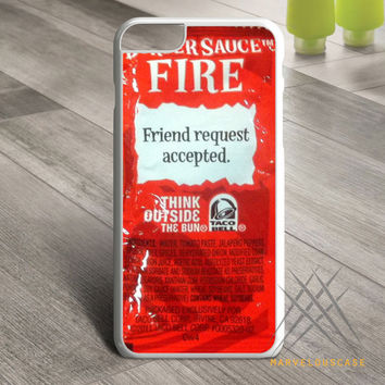 Taco bell sauce packet Custom case for iPhone, iPod and iPad