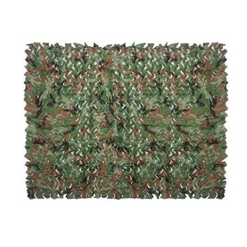 Camouflage Nets  7 Color Sun Shelter Tarp Tent 2MX1.5M Forest Mesh Net Hunting Camping Military Tranning Exercise Jungle Shelter
