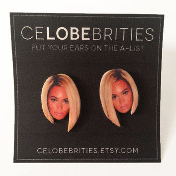 Beyonce Bob Earrings