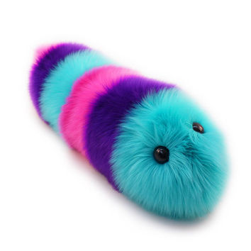 Calypso Snuggle Worm Caterpillar Stuffed Animal Toy Plushie - 8x24 Inches Large Size