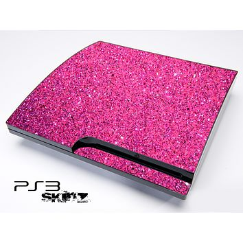 Pink Glitter Ultra Metallic Skin for the Playstation 3