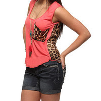 rue21 :   SLOUCH PKT KNIT CHIFF TEE
