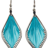 String Drop Earrings