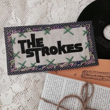 Handmade Retro The Strokes Patch (Medium)
