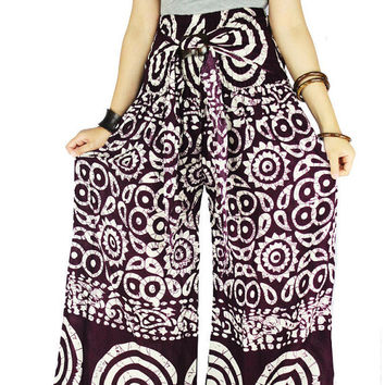 Thai pants Hippie clothes Hippie pants Palazzo Pants Sewing Pattern Gypsy pants Harem pants