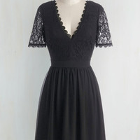 Craft Cocktails Dress in Black