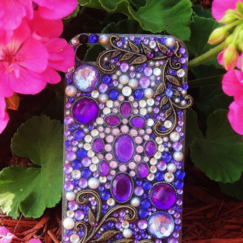Lovely Lavender Custom iPhone 4/4S Case