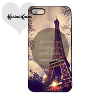 Paris is always a good idea phone case
