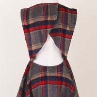 Indescribable Scotland Check Dress - Dress - Retro, Indie and Unique Fashion