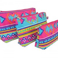 Aztec Cosmetic Bag Set