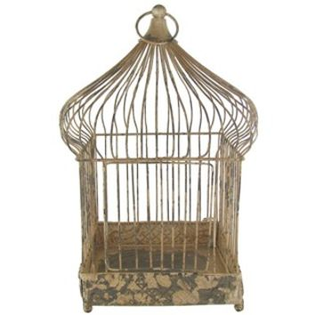 Antique White Iron Bird Cage | Shop Hobby Lobby