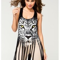 JAGUAR GRAPHIC FRINGE TANK