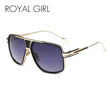 ROYAL GIRL  Men's Vintage Style Sunglasses - Free Shipping