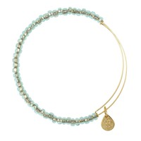 Ocean Mist Shimmering Sea Bead Bracelet | Alex and Ani