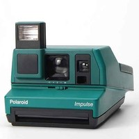 Impossible Vintage Impulse Green Polaroid Instant Camera Set- Green One