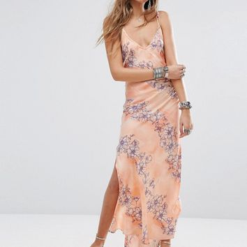 Free People Cassie Girl Slip Maxi Dress at asos.com