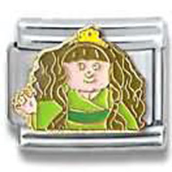 CABBAGE PATCH KIDS Princess Officially Licensed Italian Charm