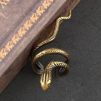 Copper Snake Ring