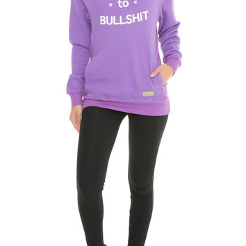 ALLERGIC TO BS Womens Hoodie