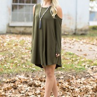 Chasing The Weekend Dress in Olive | Monday Dress Boutique