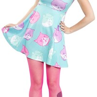 DAPPER CAT CAP DRESS