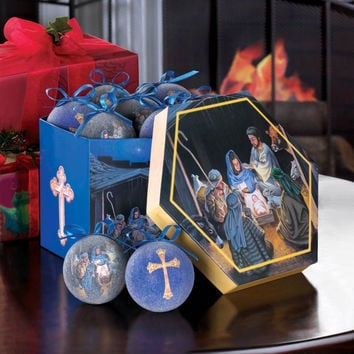 Nativity Ornament Set