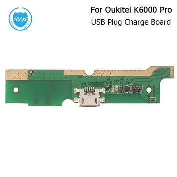 For Oukitel K6000 Pro USB Board Original New USB plug Charge Board With Flex Cable PCB For Oukitel K6000 Pro In Stock+Tracking