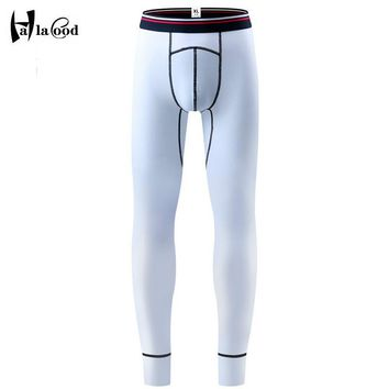 Hot Sell 2017 New Mr Autumn Winter Warm Men Cotton Leggings Tight Men Long Johns Plus Size Warm Underwear Man Thermal Underwear