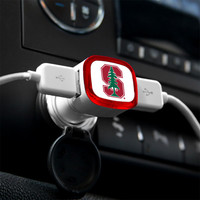 Stanford Cardinal USB Car Charger