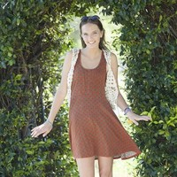 Red Traveler Dress From Natural Life